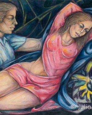 Julio-Susana_2005_Conquista_50x35