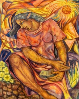 Julio-Susana_2007_La-Estudiante_50x36