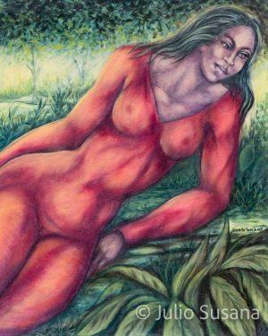 Julio-Susana_2007_Recreacion-Tropical_50x35